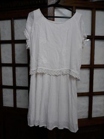 Vestido PIMKIE bordado e renda