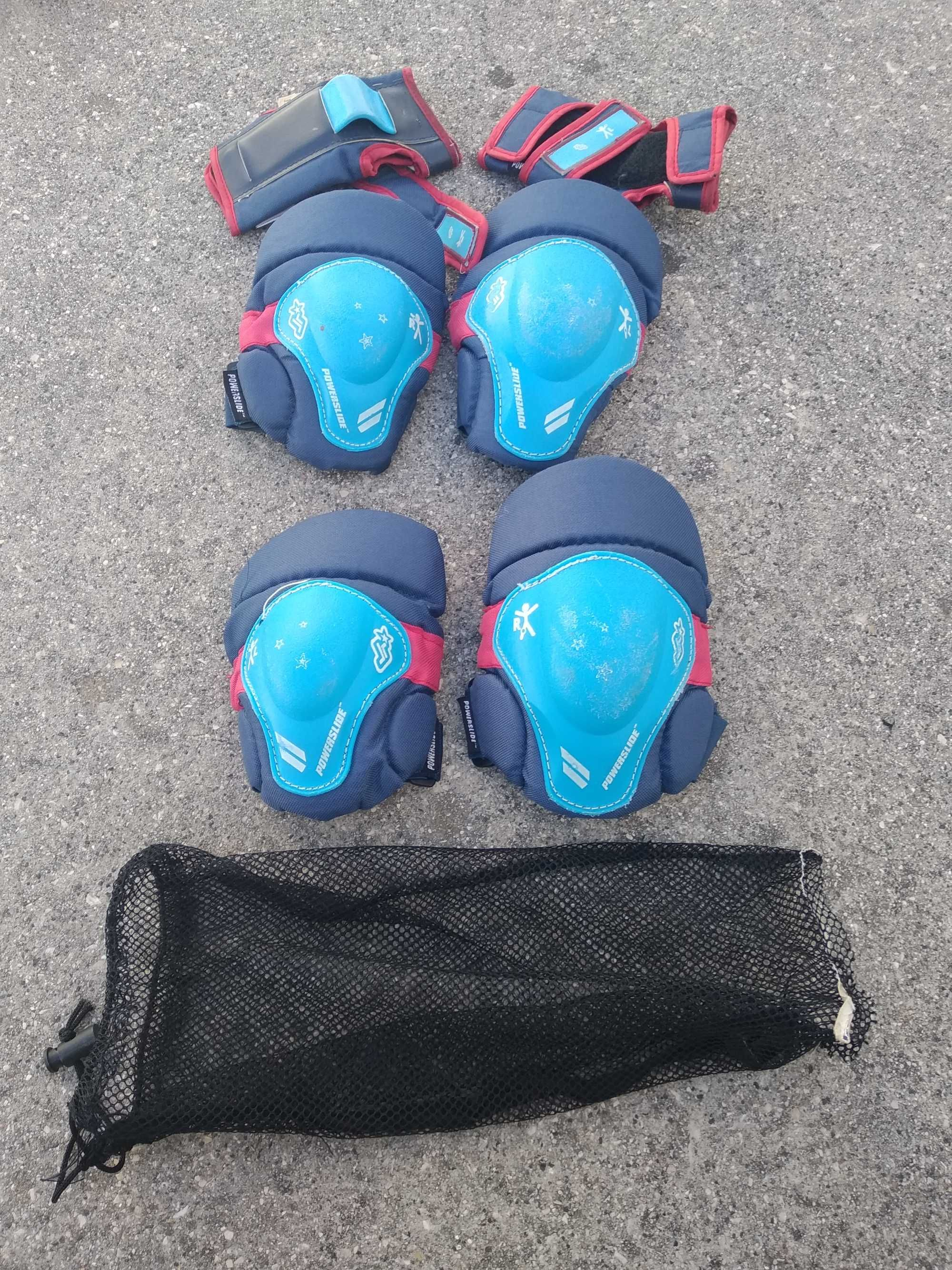 Kit de proteções para bicicleta, Patins, trotinete ou skate