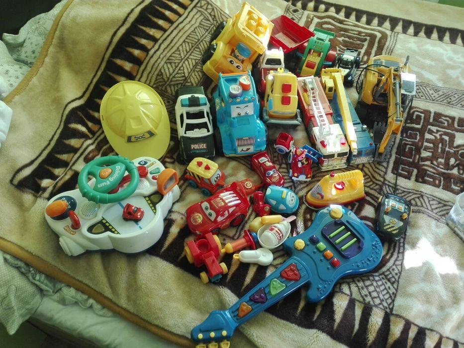 Zabawki zestaw dla chlopaka Boguchwała - image 1