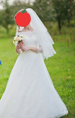 Весільне плаття (айворі)