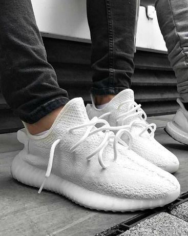 Кроссовки Женские Adidas yeezy boost 350 Classic White изи буст