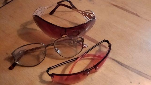 Солнцезащитные очки 3 штуки