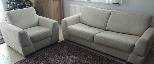 Sofa fotele zestaw wypoczynkowy
