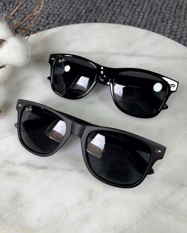 Очки солнцезащитные, окуляри, чорні Ray-Ban Adidas Burberry Loro piana