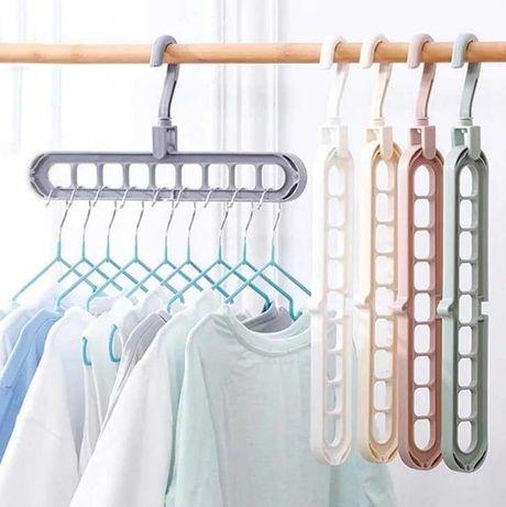 Cabide organização e armazenamento roupas crianca adulto