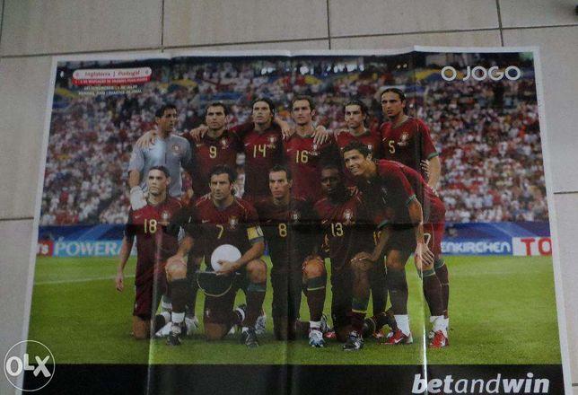 Poster Seleção Portuguesa Mundial 2008 - 1/4 final