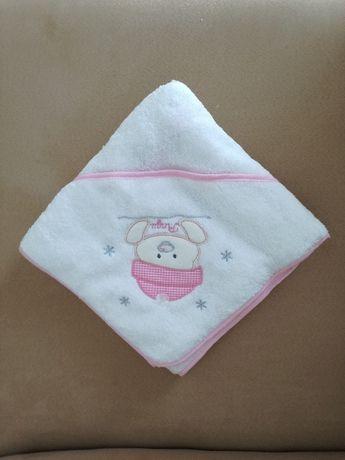 Toalha de banho Menina - Nova