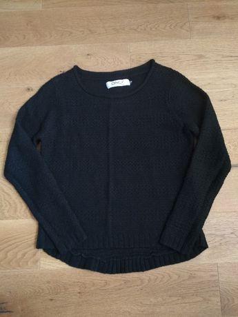 Only sweter czarny dzianina XS