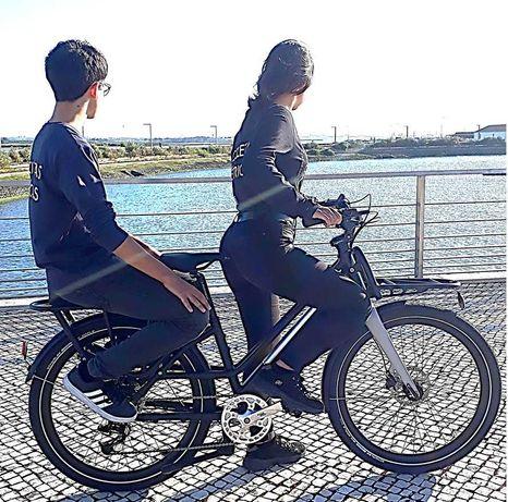 Bicicletas elétricas carga compactas 2 lug. Ahooga Bike Modular Full P