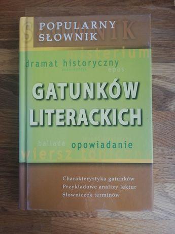 Popularny słownik gatunków literackich