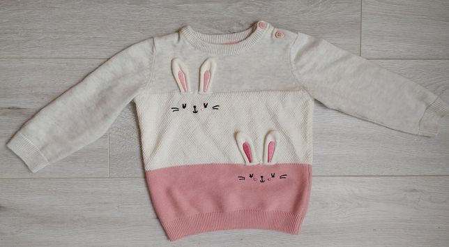 Sweter dziewczęcy 86 C&A