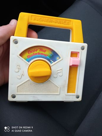 Fisher price vintage,over the rainbow