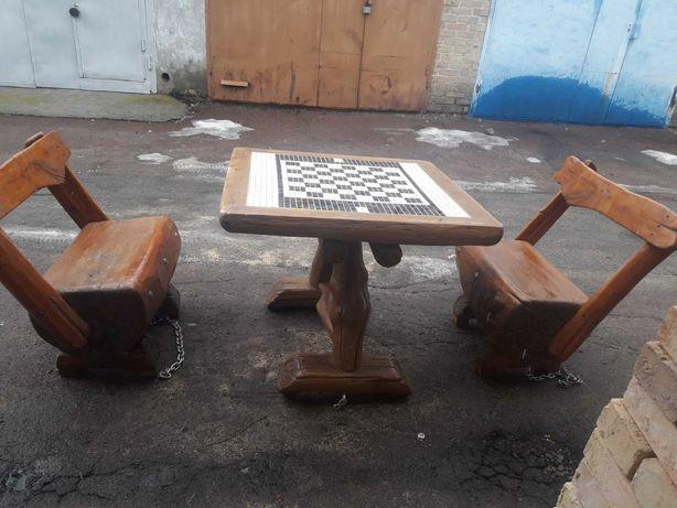 Садова мебель ручної роботи
