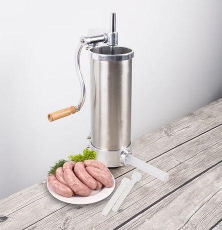 НОВИЙ !!! Шприц для набивки колбас 3 кг, Biowin
