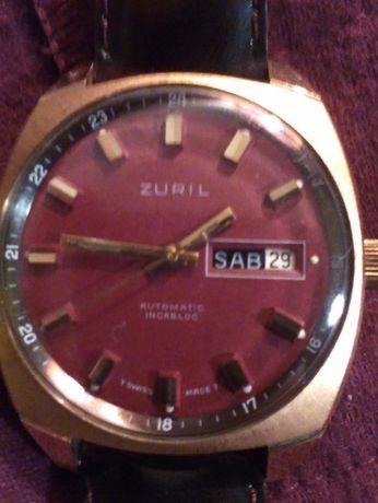 Relógio Zuril automático 'suisse made'