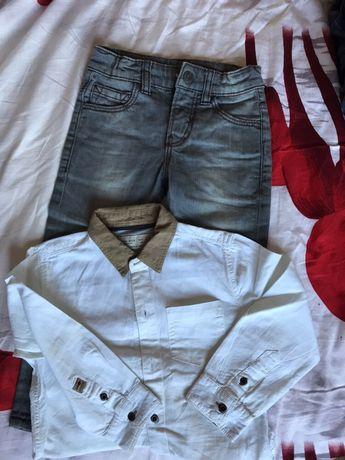 Рубашка брюки Zara H&M Mayoral штаны брюки