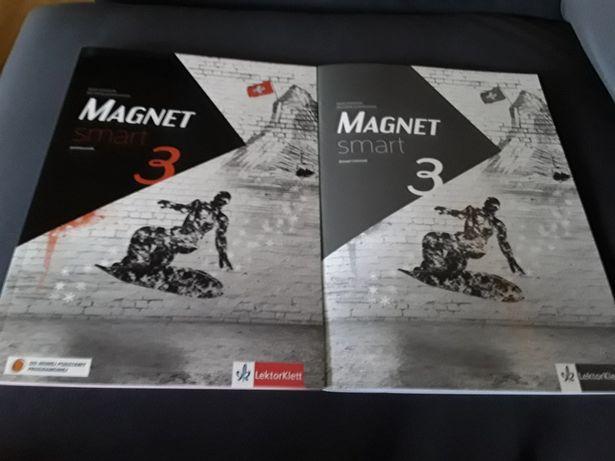 Magnet Smart 3 kl. VIII - komplet i CD (nowe) do nowej PP Lektorklet