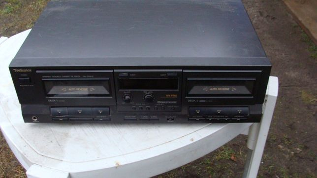 Technics magnetofon dwu-kasetowy RS-TR313