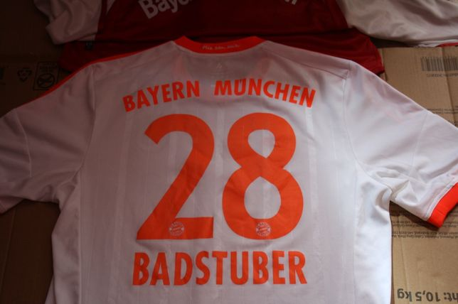 Koszulka Bayern Munchen 50 lat Bundesligi ,BadStuber 28 ORGINAL