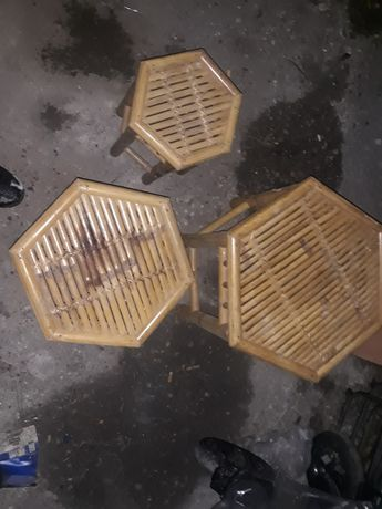stołki ratanowe