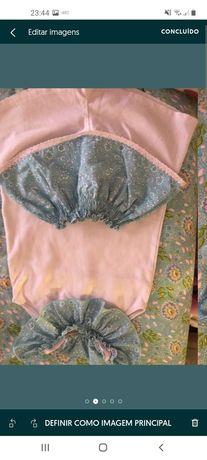 Calção e blusa marca Meia Dúzia tamanho 4 anos