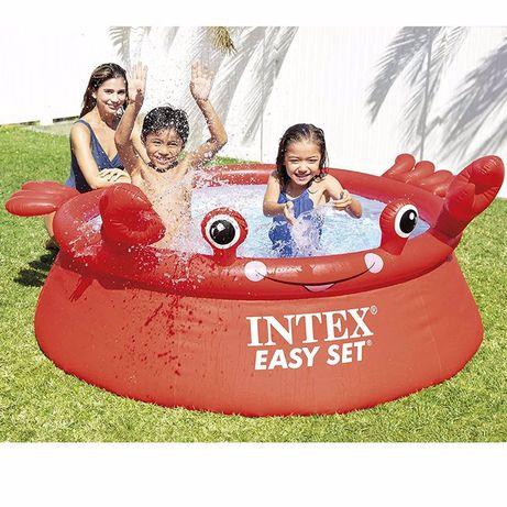 Intex 26100 детский надувной бассейн Весёлый краб