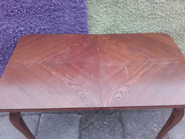 Stary stół rozkładany drewniany