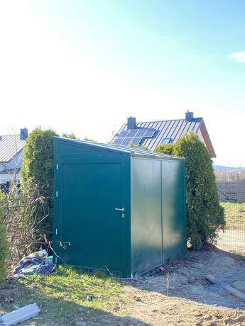Domek schowek garaż  ocieplany na działkę