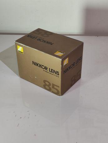 Nikon 85mm 1,4D ##SÒ CAIXA##