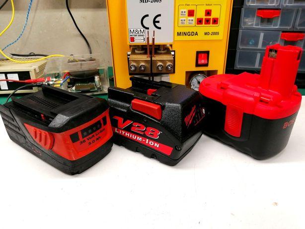Regeneracja Akumulatorów Baterii Elektronarzędzia Odkurzacze Rowery!