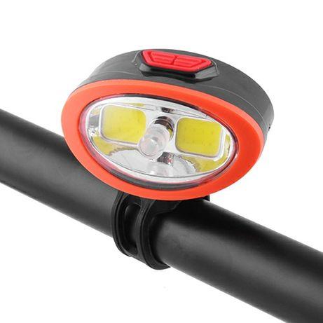 Фара велосипедная фонарь велосипедный велофара встроенный аккумулятор