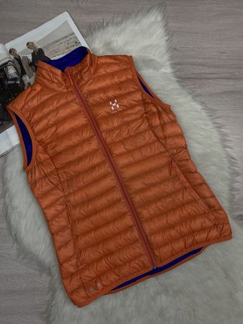 Оригинальная пуховая жилетка жилет Haglöfs Essens II Q Down Vest