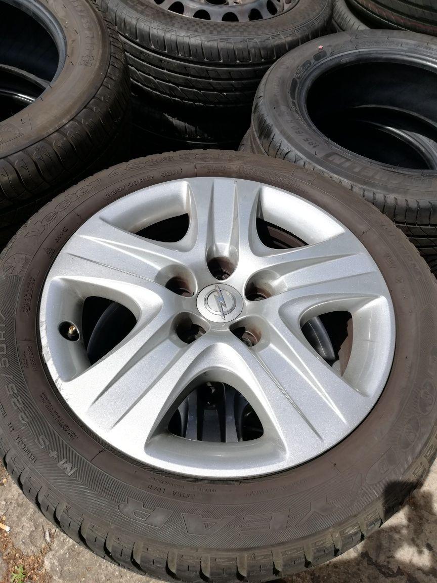 Felgi stal STRUKTURA 17 jak ALUMINIOWE Opel Insignia 7x17 5x120 ET41