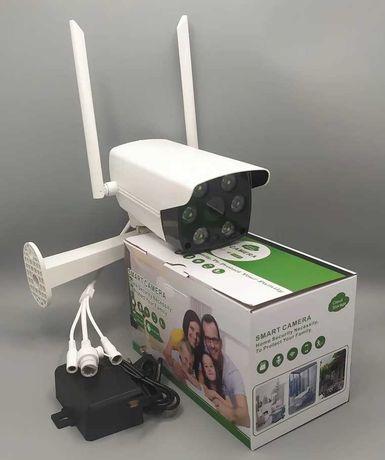 ИП камера видеонаблюдения CF32/День-ночь/Wi-Fi/ + кронштейн и блок.