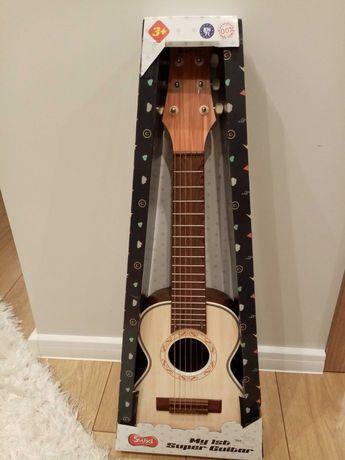 Gitara drewniana Smiki Smyk