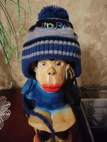 Зимняя шапка детская на мальчика