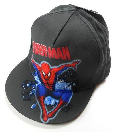 H&M SPIDERMAN nowa czapka z daszkiem 122/128