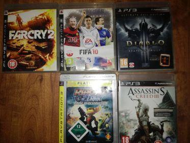 GRY do PS3 zestaw