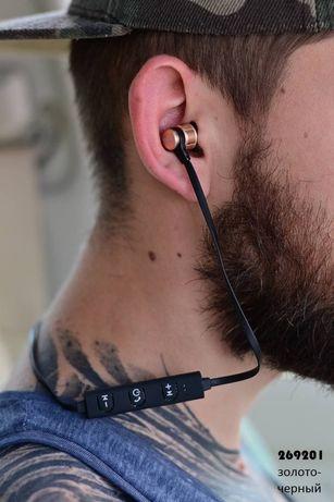 Блютуз наушники + подарок магнитный кабель
