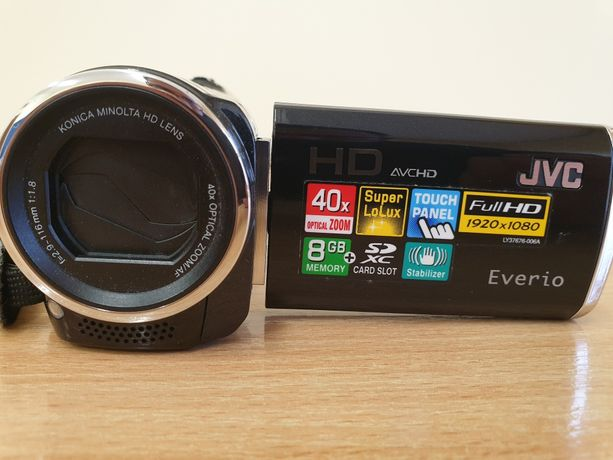 kamera cyfrowa JVC GZ-HM 650BE