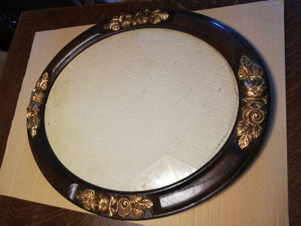 Sprzedam piękną owalną ramę na obraz lub lustro z pocz. XX w