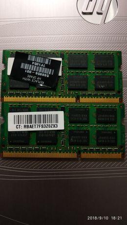 Оперативная память SODIMM Samsung DDR3