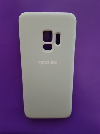 Новый оригинальный чехол для Samsung S9 silicone cover