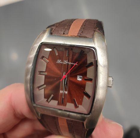 Zegarek męski Ben Sherman brązowy skórzany pasek
