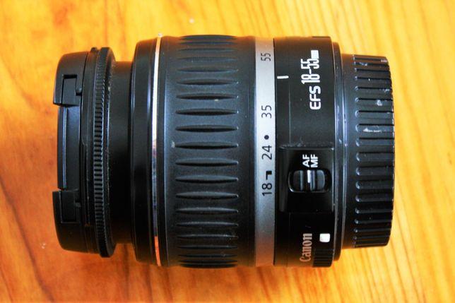 obiektyw canon EFS 18-55 mm brak AF