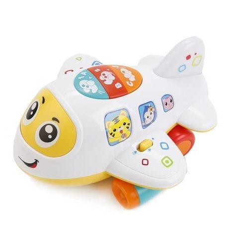 Музыкальная игрушка Крошка самолет Play Smart 7724 Белый