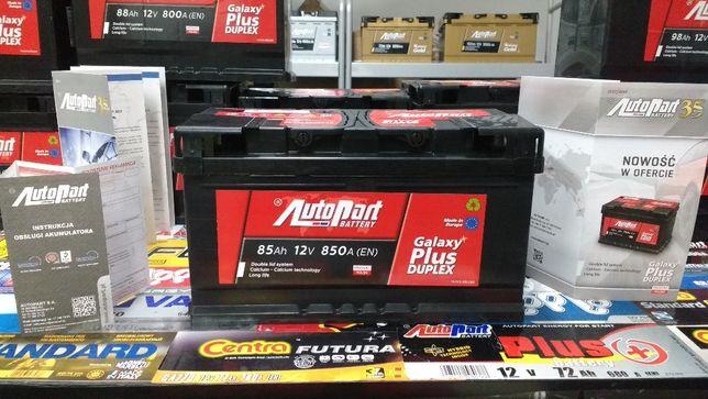 Akumulator AutoPart Mielec Galaxy Plus Duplex 85Ah 850A Ford Opel Krak