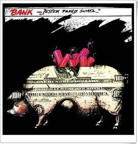 BANK Jestem panem świata - album płyta LP vinyl 33