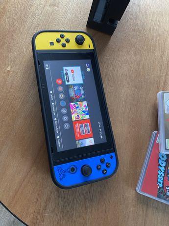 Nintendo Switch CFW Dużo dodatków Malo uzywana
