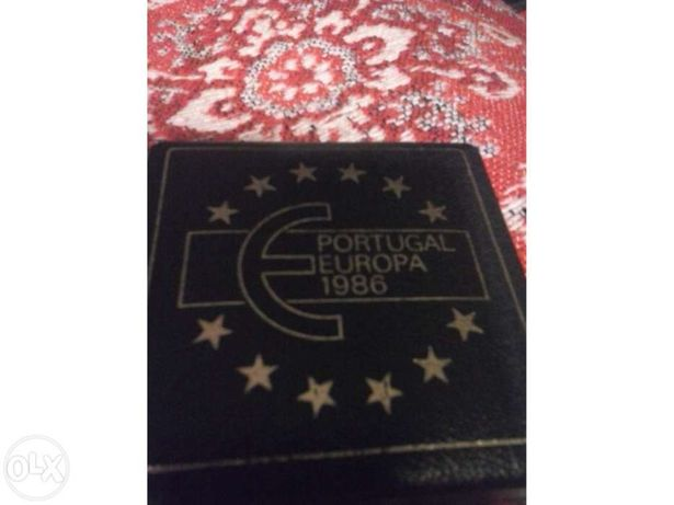 Moeda comemorativa de adesão de Portugal à CEE